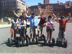 City Tours by Segway ➡ Rome! #rome #segway