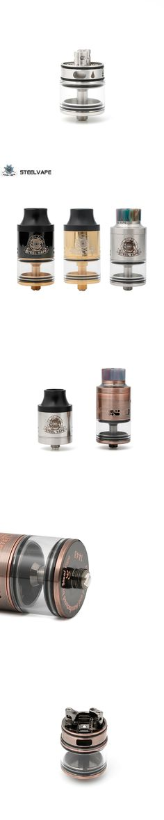 Original Steel Vape Series Tailspin RDTA 25mm RTDA RDA Electronic Cigarette Atomizer for Mechanical Mod Box Mods Kit Best
