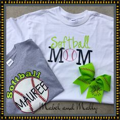 A personal favorite from my Etsy shop https://www.etsy.com/listing/291704973/made-to-order-white-or-grey-baseball-mom