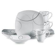 Dinnerware set http://www.bedbathandbeyond.com/store/product/mikasa-reg-geometric-circles-16-piece-dinnerware-set/1017386646?categoryId=12123