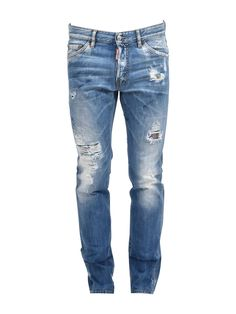 DSQUARED2 RIPPED COOL GUY JEAN. #dsquared2 #cloth # Guys Ripped Jeans, Jeans Pants, Denim Jeans, Skinny Jeans, Distressed Jeans, Dsquared2, Style Inspiration, Christmas Sale, Indigo