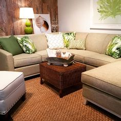 Furniture in Knoxville - Sectional Sofa - Martin Sectional Sofa - Beach Décor - Rowe Furniture - Home Interiors - Knoxville Home Décor - Knoxville Interior Design - The Design Center at Braden's - Braden's Lifestyles Furniture