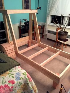 Feeling tyre-d? Doting dad creates massive digger bed for his construction mad son - Storytrender Kids Beds For Boys, Kids Bedroom Boys, Boys Room Decor, Baby Bedroom, Lego Bedroom, Childs Bedroom, Kid Bedrooms, Boy Decor, Boy Rooms