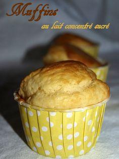 Muffins au lait concentré sucré - Dans vos assiettes