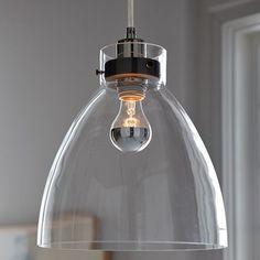 Industrial Pendant - Glass