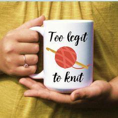 Funny Coffee Mug for Crocheter  Crochet Mug  by DoTakeItPersonally