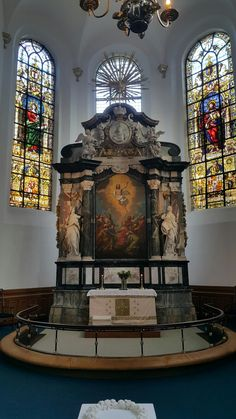 Altar.  Iglesia del Espíritu Santo.  Copenhague