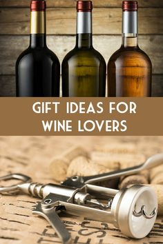 Gift Ideas for Wine Lovers :: Christmas and Holiday Gift Ideas