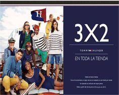Hasta el 20 de julio encontrarán la promoción de 3X2 en toda la boutique TOMMY HILFIGER. Aplican restricciones.
