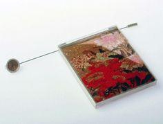 "Akiko Ban - brooch ""Time & Nature"""