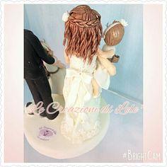 Topper cake particolare