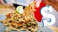 CHICKEN PAD THAI RECIPE - SORTED - YouTube