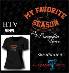 My Favorite Season Vector Design MST