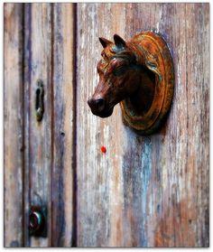 Door knob, Florence, Tuscany