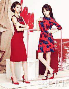 Girl's Day Hyeri and Mina