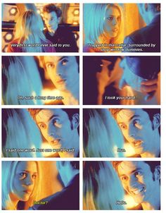 This is so adorable. This is when rose does fall in love with ten and when ten sees that. I loved this part. <3