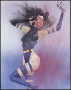 Psylocke by Bill Sienkiewicz