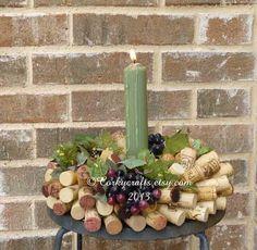 Wine Cork Wreath via Etsy