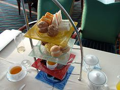 Afternoon Tea at the Burj Al-Arab, Dubai