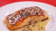 Seared Salmon With Lemon Butter Sauce - Pan Seared Salmon Recipe - Dishin' With Di  # 133