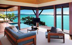 Qualia - Hamilton Island - they do everything right here... - November 2009 - Kev & I