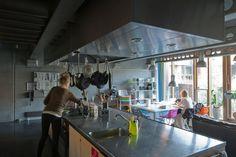 Industrial Kitchen Space