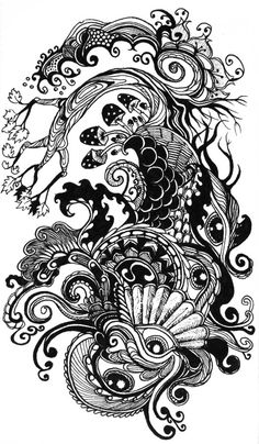 Archive Life-Drawing   To New Waves...INCREDIBLE TREE AND THE DETAIL IS EXTREMELY MAGNETIC  TO PERUSE.