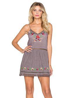 Tularosa Bloom Slip Dress en Medium Grey   REVOLVE
