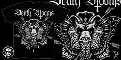 """Death Blooms"" t-shirt design by Ralph Espiritu"