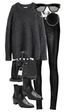"""Untitled #2945"" by angieswardrobe ❤ liked on Polyvore featuring Yves Saint Laurent, H&M, Topshop, Cartier and 32.4"