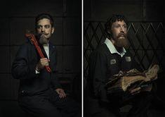 Portraits of Auto Mechanics in the Style of Renaissance Paintings – Fubiz Media