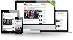 Hot News Portal by hot-themes on @creativemarket