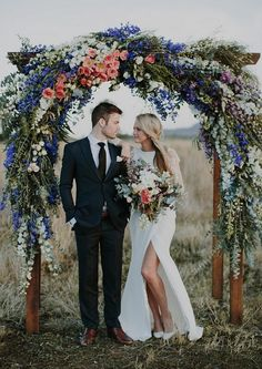 Creative wedding ceremony backdrops - WedShed
