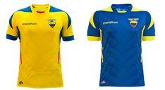Camisa de Ecuador Copa Mundial 2014