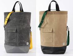 Google Image Result for http://coolmaterial.com/wp-content/uploads/2010/06/Chester-Wallace-Waxed-Canvas-Tote-Bags.jpg