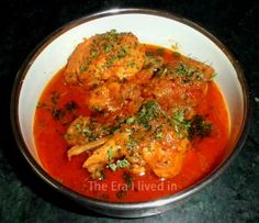 Fenugreek Chicken with gravy