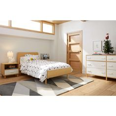Paxson Bed | Crate and Barrel