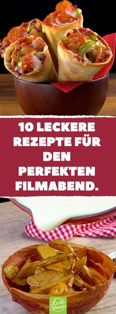 Im Ofen passiert dann die Magie. 10 leckere R… Sticky ham on a bowl. In the oven then the magic happens. 10 delicious recipes for the perfect movie night. Pizza Snacks, Party Snacks, Pizza Recipes, Brunch Recipes, Appetizer Recipes, Cooking Recipes, Fancy Appetizers, Good Food, Yummy Food