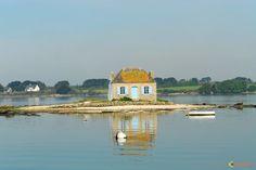 Photo : Maison de pêcheur à Saint-Cado
