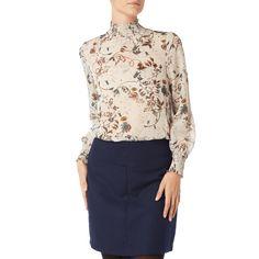 | #Vero #Moda #Damen #Blusenshirt aus #Chiffon mit #floralen #Details