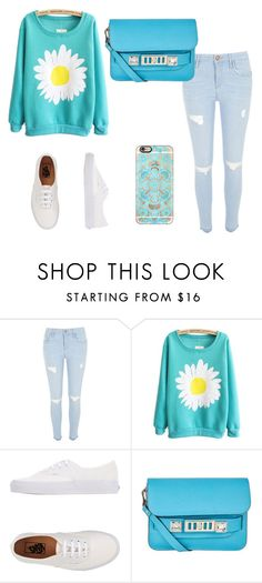 """""""Sin título #49"""" by luz-715 ❤ liked on Polyvore featuring Vans, Proenza Schouler and Casetify"""