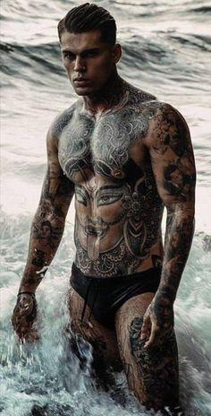 Beautiful Men Faces, Gorgeous Men, Guys With Braces, Mens Crop Top, Stephen James Model, Tatted Men, Hot Guys Tattoos, Hunks Men, Inked Men