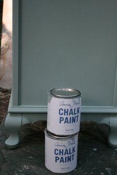 Duck Egg Blue Annie Sloan chalk paint