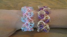 Rainbow Loom- Beachy Keen Bracelet (Original Design)