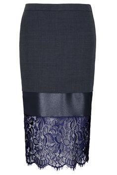 Image result for lengthen pencil skirt