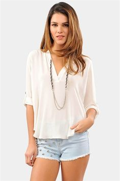 What A Pro Blouse - Ivory