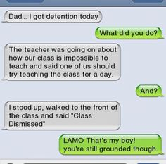 The Funny Texts Between Parents & Kids That Make Us LOL - funny text messages Memes Humor, Funny Texts Jokes, Text Jokes, Funny Text Fails, Cute Texts, Funny Relatable Memes, Funny Quotes, Very Funny Texts, Humor Texts