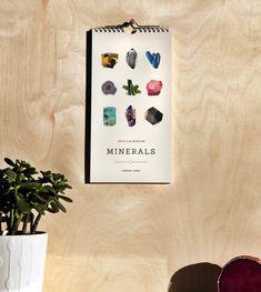 2014 Minerals Calendar by shoplindsayjones on Etsy
