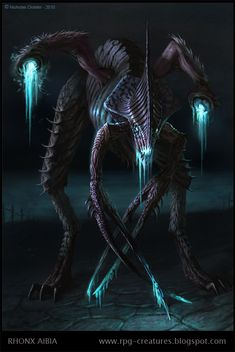 Rhonx Aibia - creature concept by Cloister on deviantART