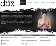 www.daxherbal.in    Created logo and design of the website. The site is developed in PHP with Shopping Cart functionality which leads to PayPal Checkout